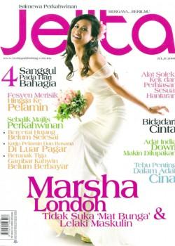 Jelita adalah majalah remaja wanita yang diterbitkan oleh Berita Publishing, Malaysia. Pretty In White, telah dipilih untuk mengemukakan 'Wedding Gown' dari pereka fesyen dalam isu perkahwin istemewa; bulan Julai, 2009. Semasa menerujui isu Jelita, kami telah berkerjasama dengan Marsha Londoh, dari Akademi Fantasia, dengan bakatnya yang mengkagumkan!