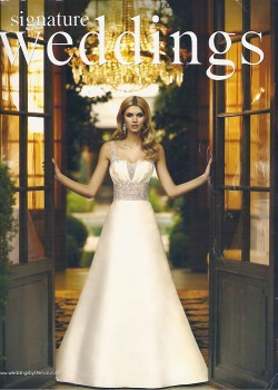 Signature Weddings, a magazine by WeddingsbyEternal.com, had also featured Pretty In White in their special wedding issue 2009. Signature Weddings is meant to shares inspirations & ideas, wedding photos, insights, personalities of notable people in weddings and more be inspired! Heartiest congratulations to the couple Elvira and Kevin, featured in this issue.